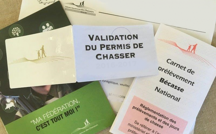 VALIDATION DU PERMIS DE CHASSER