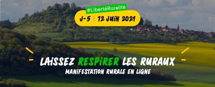 MANIFESTATION VIRTUELLE «EN LIGNE» LE 12 JUIN 2021